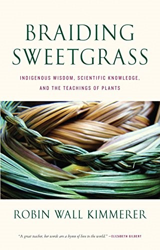 Book cover for Braiding Sweetgrass