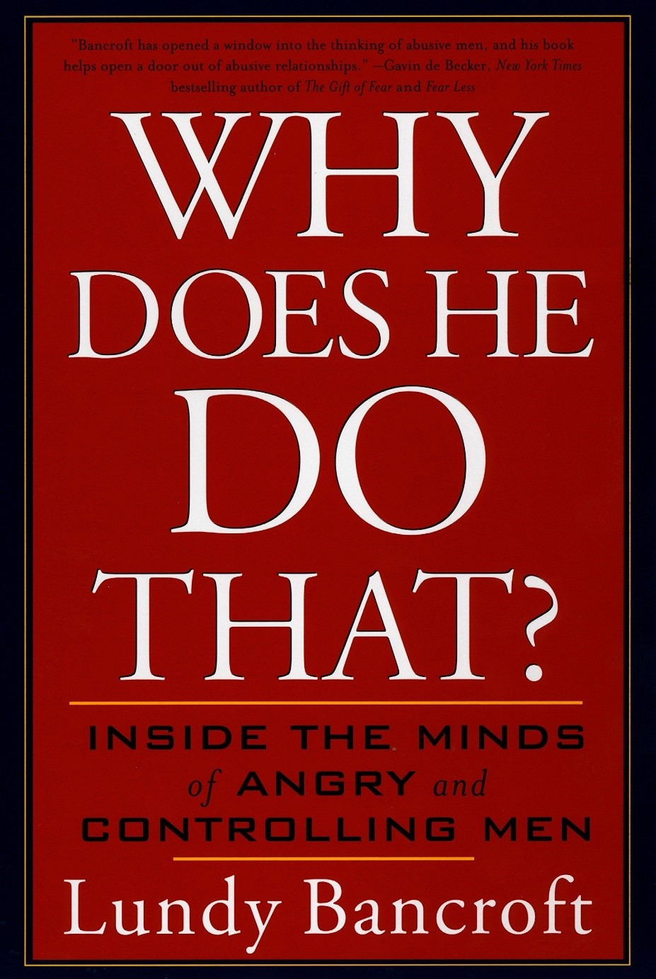 Book cover for Why Does he do That